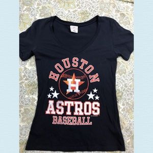 Houston Astros Graphic Tee Shirt Size Medium